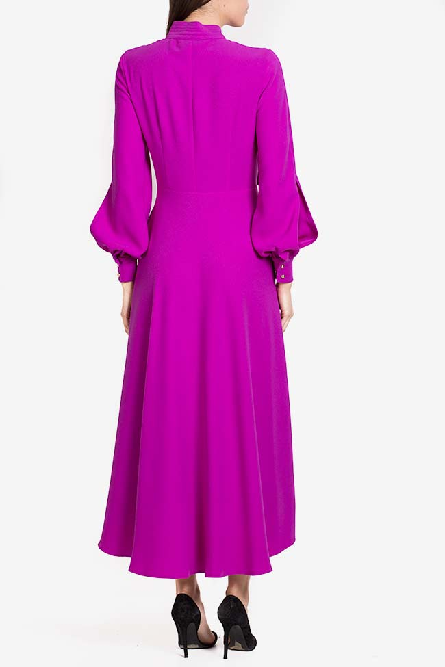 Cutout crepe midi dress Exquise image 2