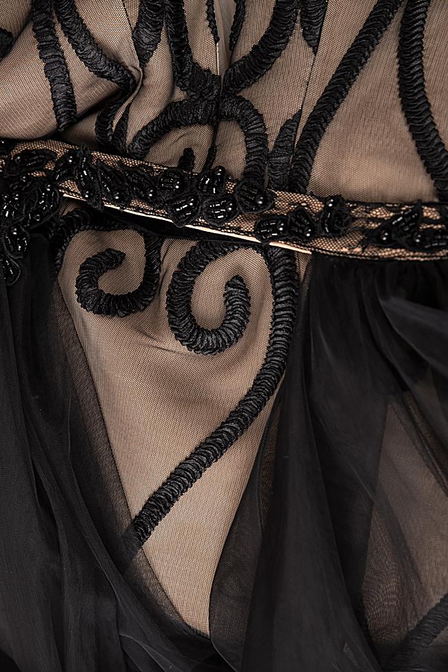 Robe en tulle et dentelle à dos nu Bien Savvy image 4