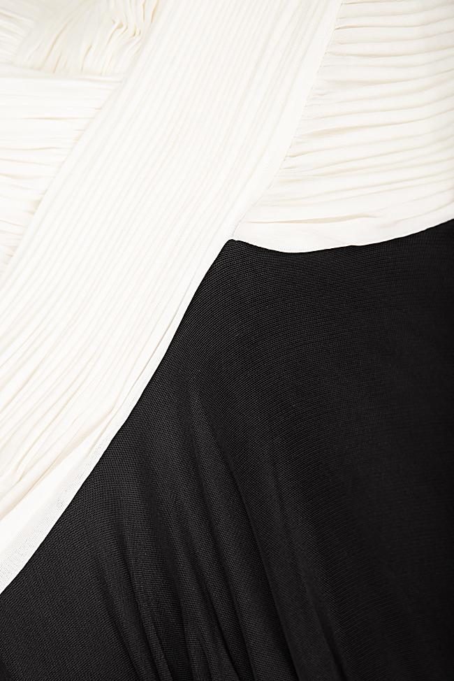 Robe en tulle et voile avec applications de velours Bien Savvy image 4