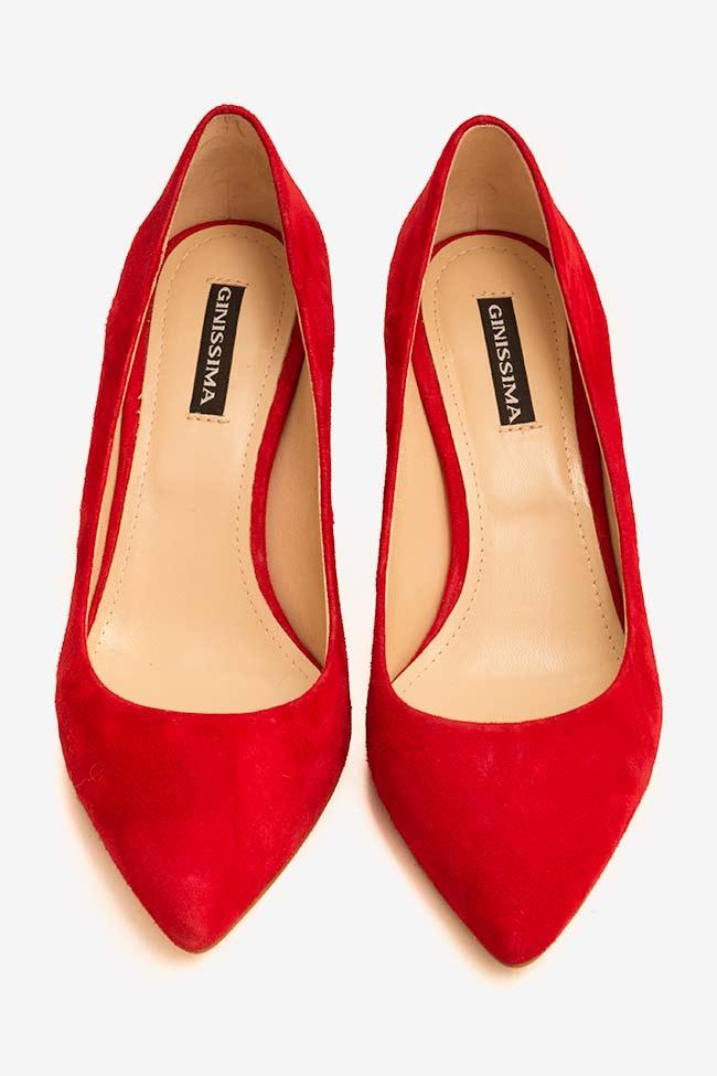 Chaussures en daim avec talon Alice60 Ginissima image 2