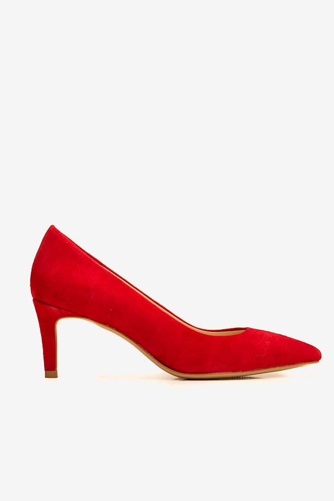 Chaussures en daim avec talon Alice60 Ginissima image 0