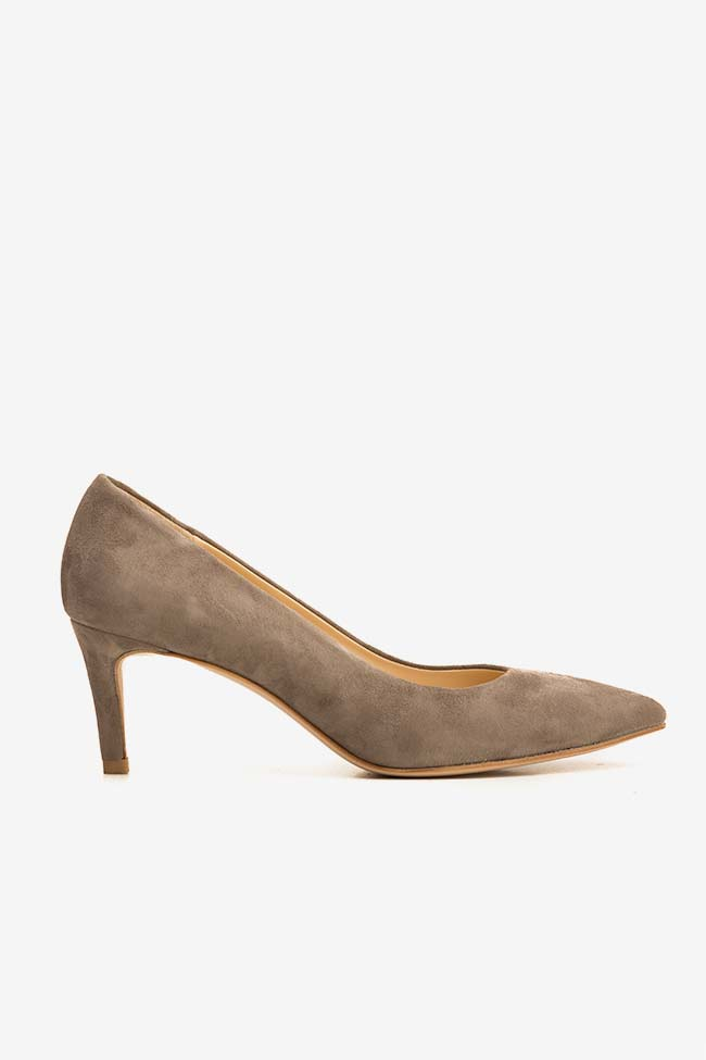 Alice60 suede leather pumps Ginissima image 0