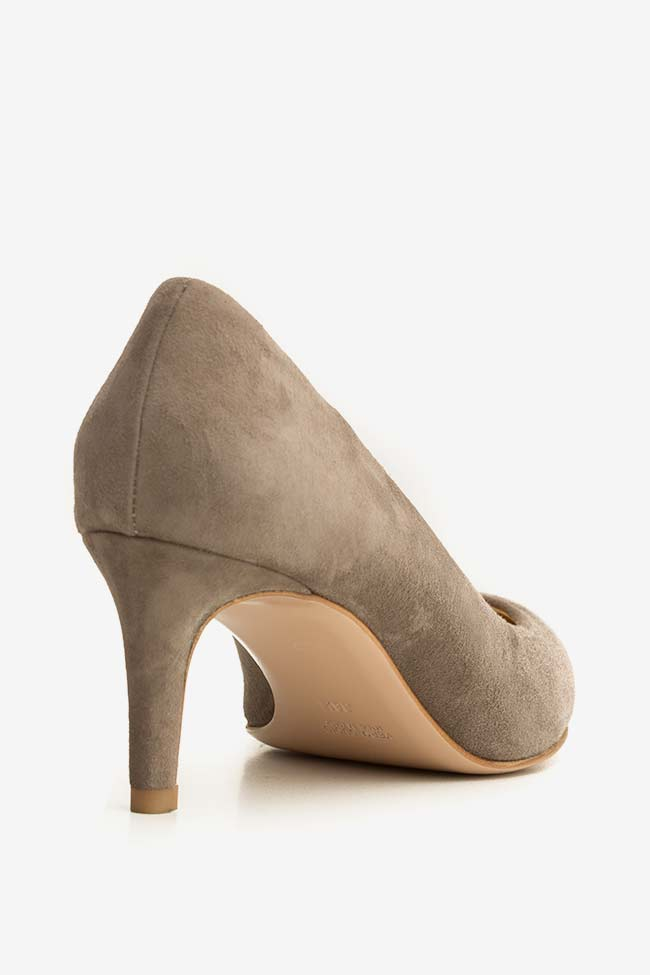 Alice60 suede leather pumps Ginissima image 1