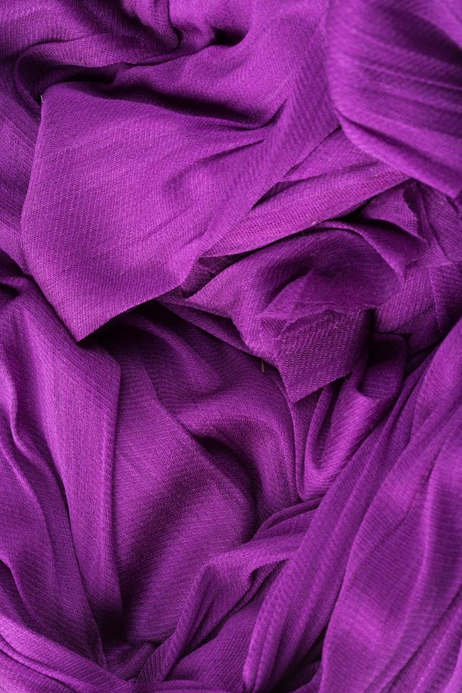 Robe plissée en mousseline de soie Lydia Maia Ratiu image 4