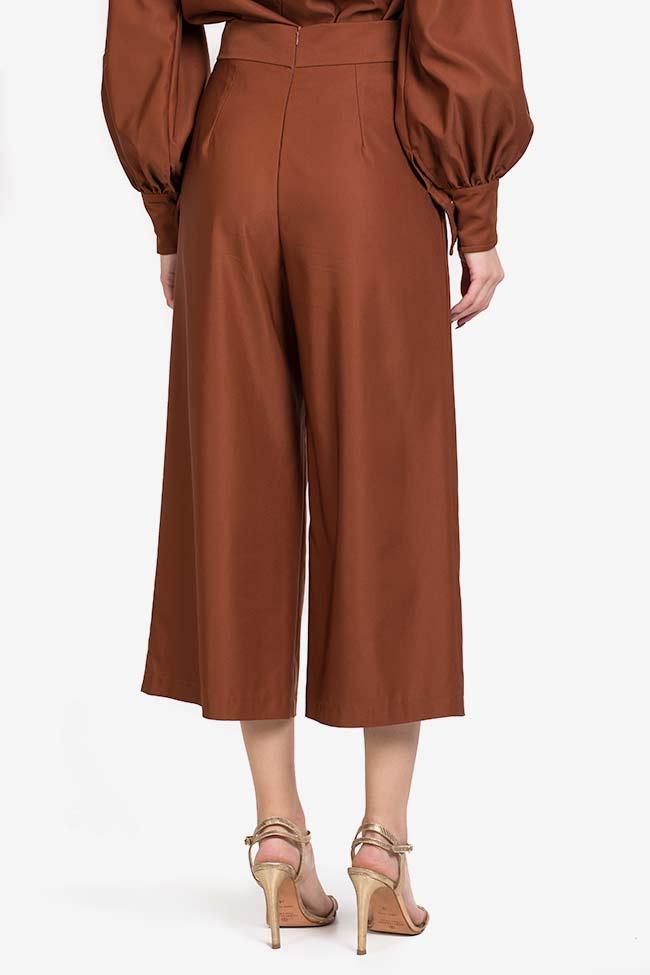 Pantalon en mélange de soie et coton Amber Carmina Cimpoeru image 2