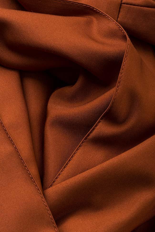 Pantalon en mélange de soie et coton Amber Carmina Cimpoeru image 4