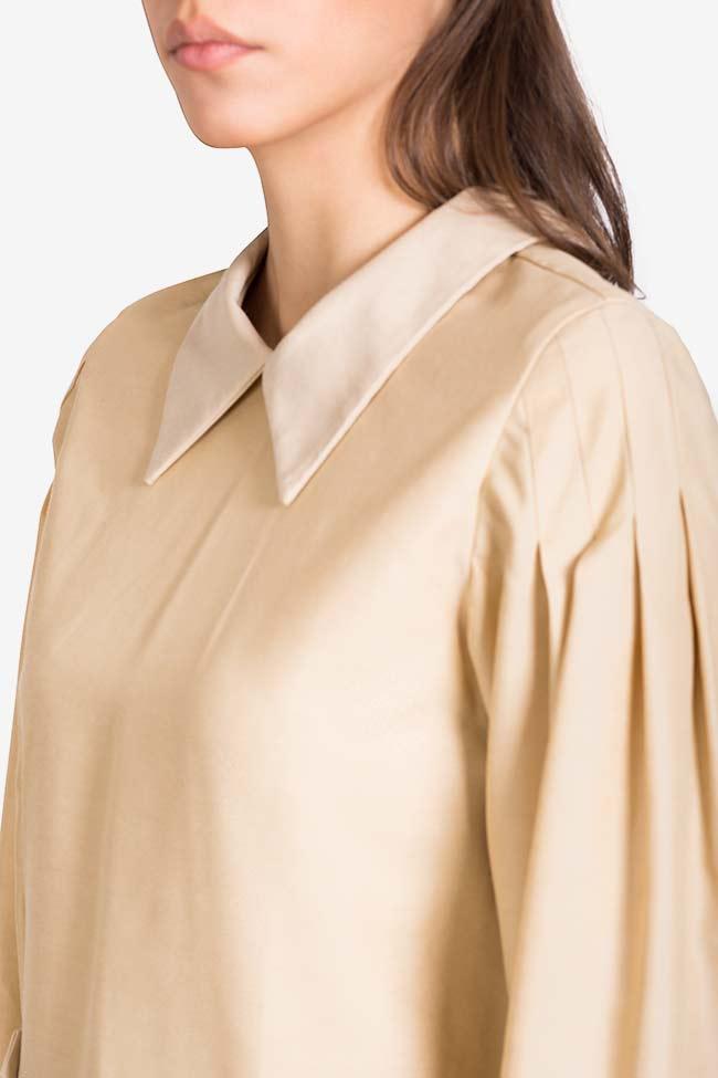 Bluza din amestec de matase si bumbac Dune Carmina Cimpoeru imagine 3
