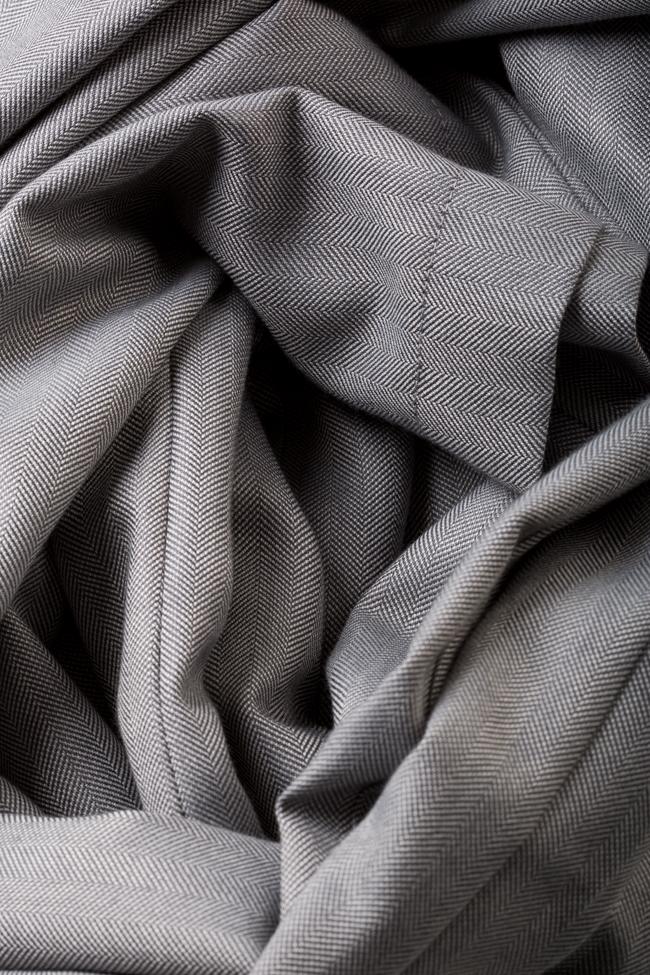 Pantalon en mélange de laine et coton Cloud Carmina Cimpoeru image 4
