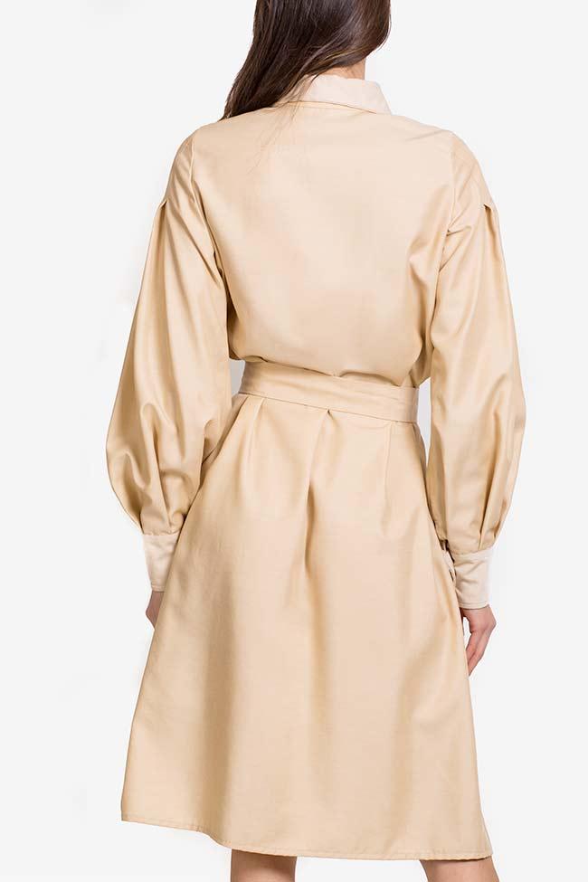 Robe chemise en mélange de soie et coton Carmina Cimpoeru image 2