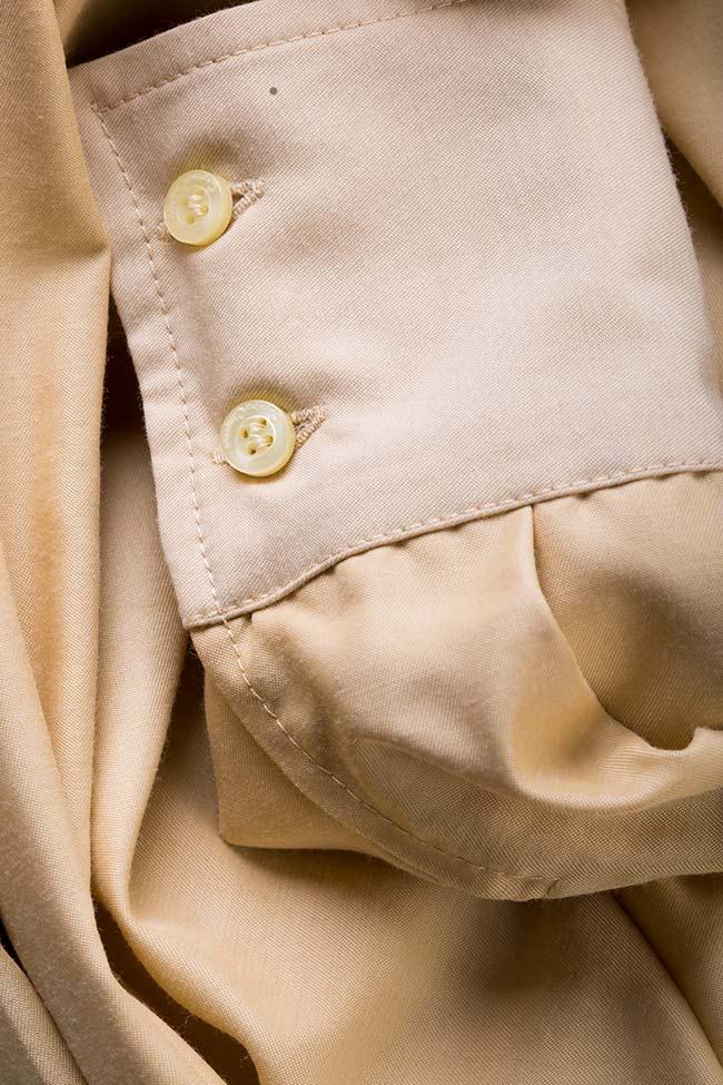 Robe chemise en mélange de soie et coton Carmina Cimpoeru image 4