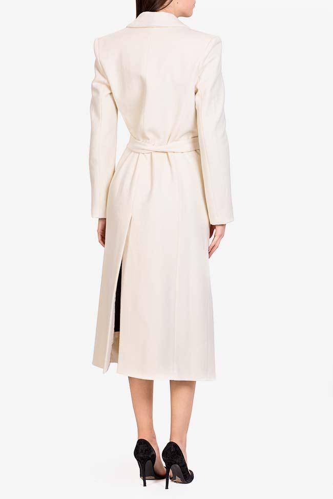 Manteau en laine avec cordon Acob a Porter image 2
