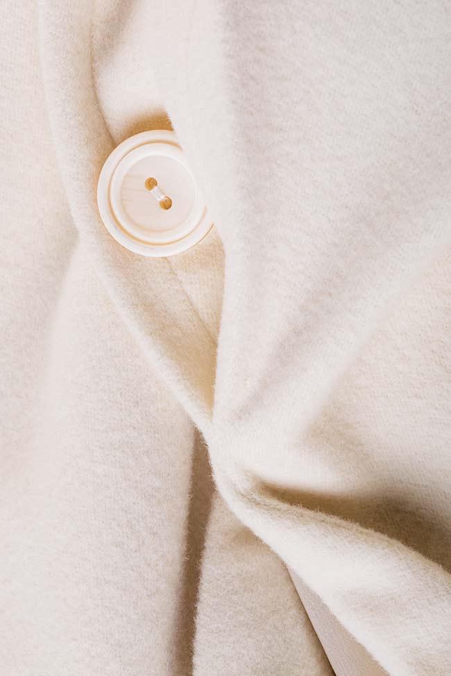Manteau en laine avec cordon Acob a Porter image 4