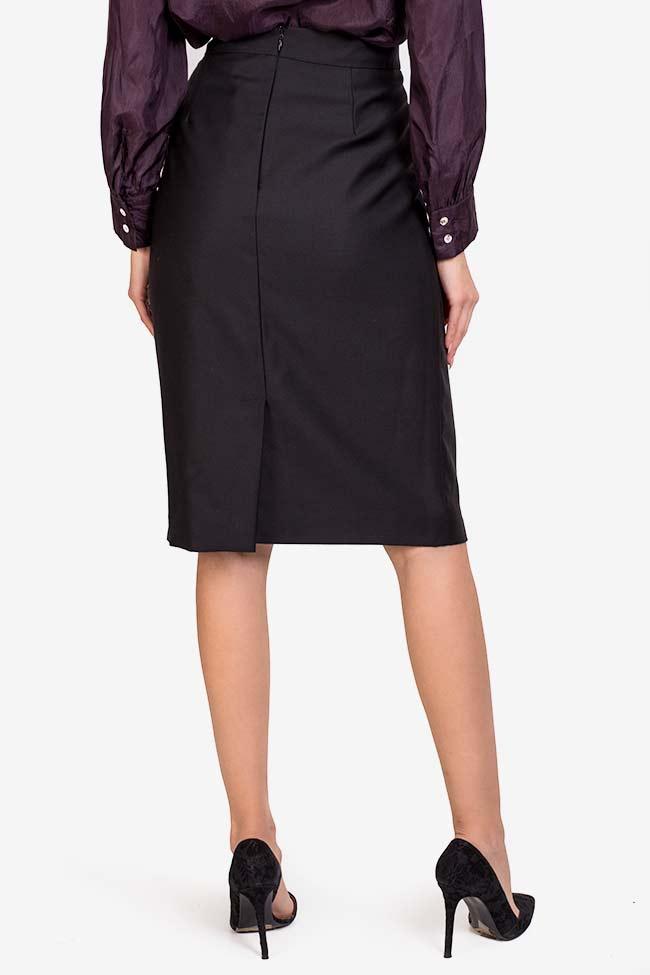 Wool midi skirt Acob a Porter image 2