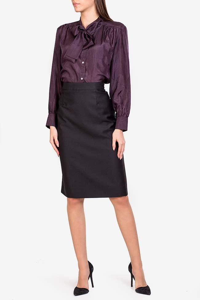 Wool midi skirt Acob a Porter image 1