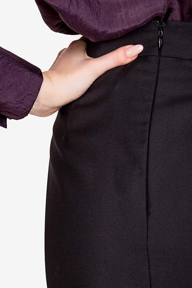 Wool midi skirt Acob a Porter image 3