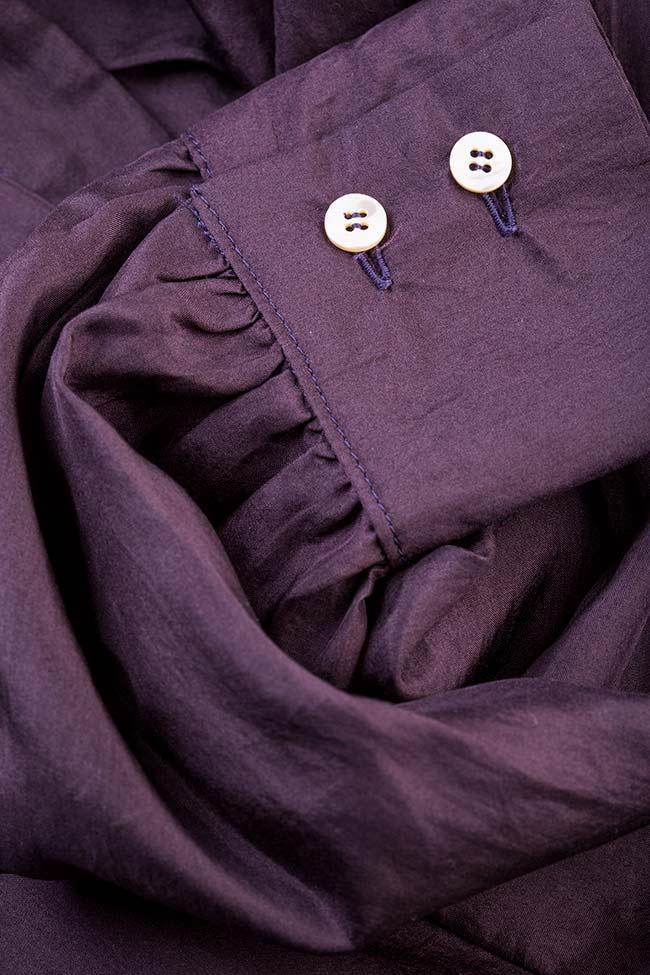 Pussy-bow silk shirt  Acob a Porter image 4