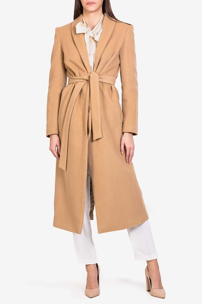 Belted wool coat Acob a Porter image 1