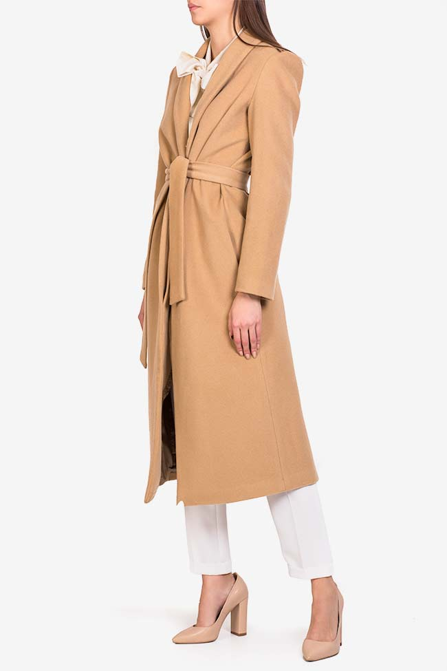 Belted wool coat Acob a Porter image 0