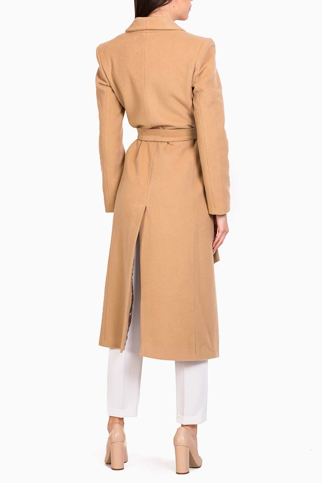 Belted wool coat Acob a Porter image 2