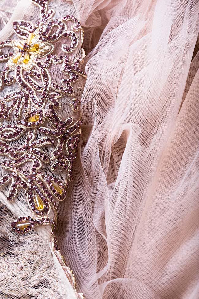 Robe en tulle avec applications brodées à la main Jasmine VIGO image 4