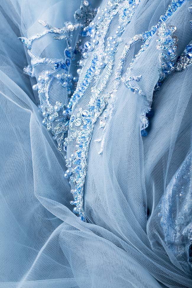Robe en tulle et dentelle avec broderies de perles et cristaux VIGO image 4