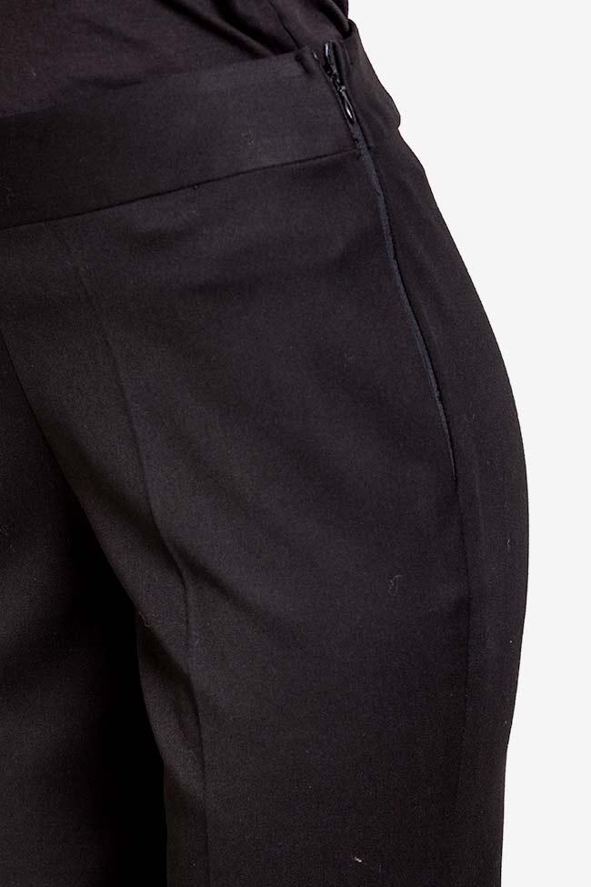 Pantaloni din crep  VIGO imagine 3