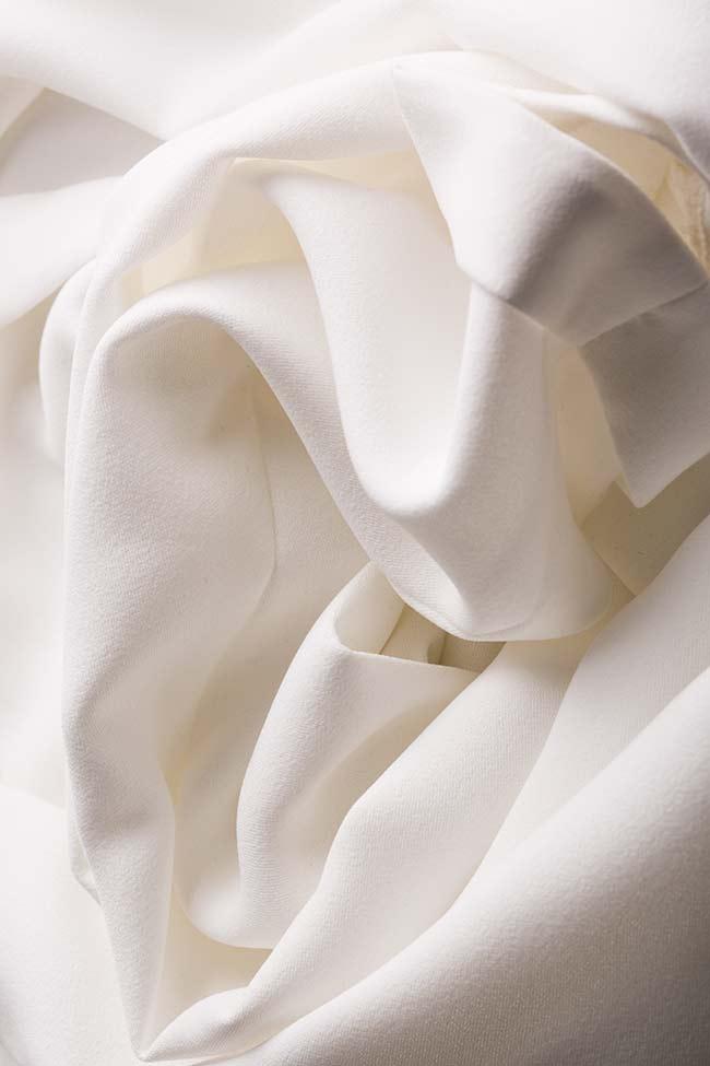Pantalon en crêpe italien  M Marquise image 5