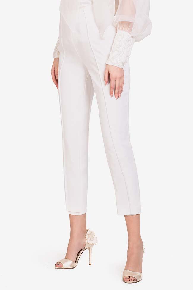 Pantaloni din crep italian Elly M Marquise imagine 0