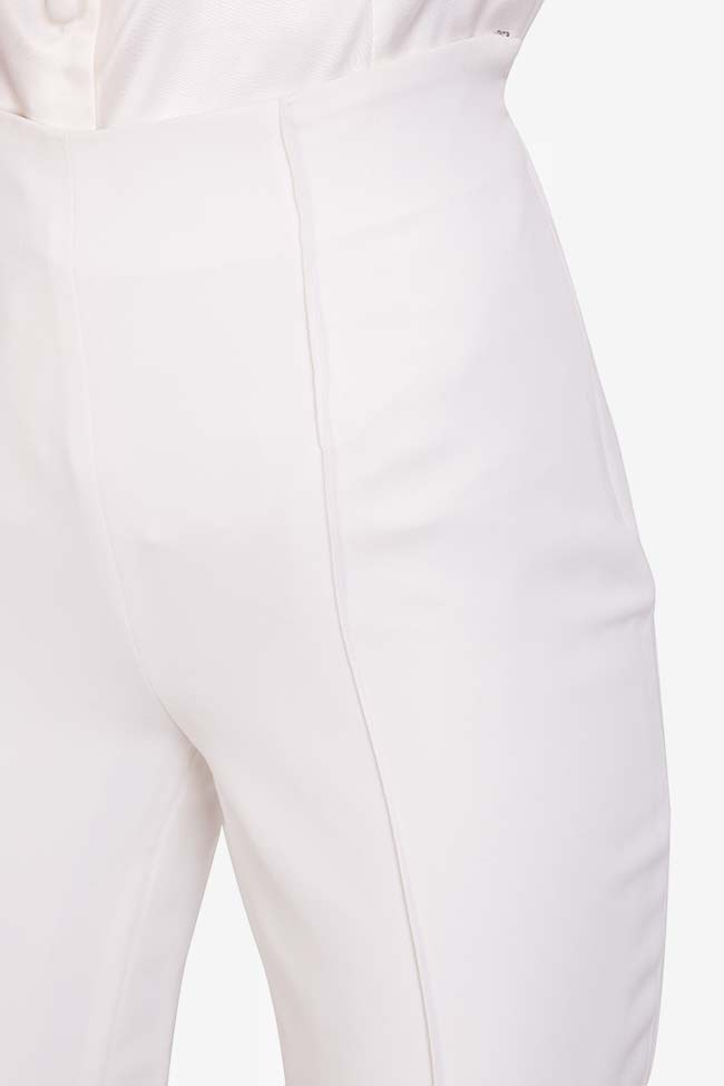 Elly italian crepe tapered pants M Marquise image 3