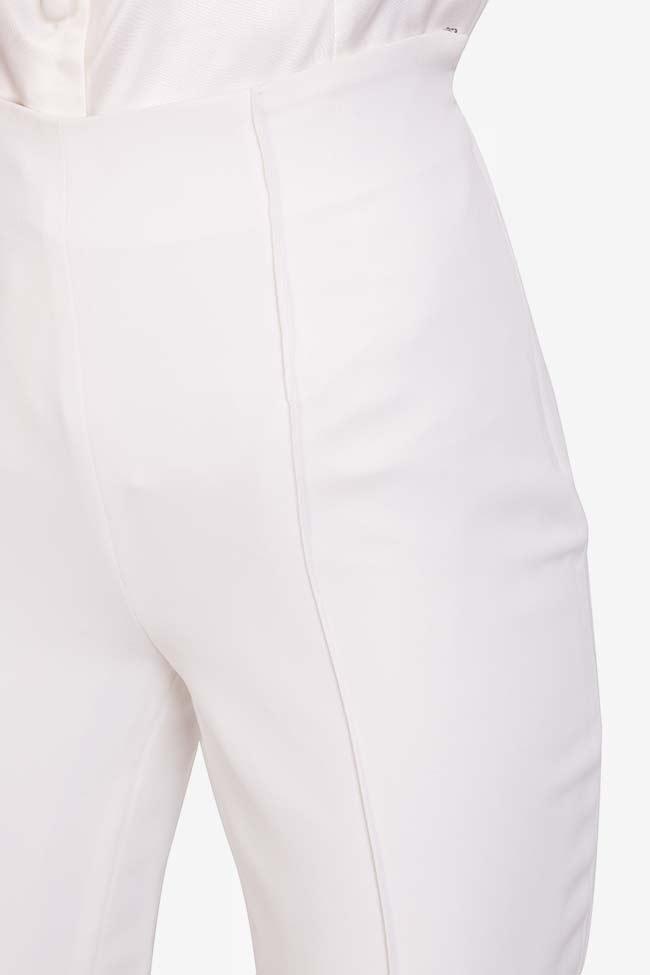 Pantaloni din crep italian Elly M Marquise imagine 3