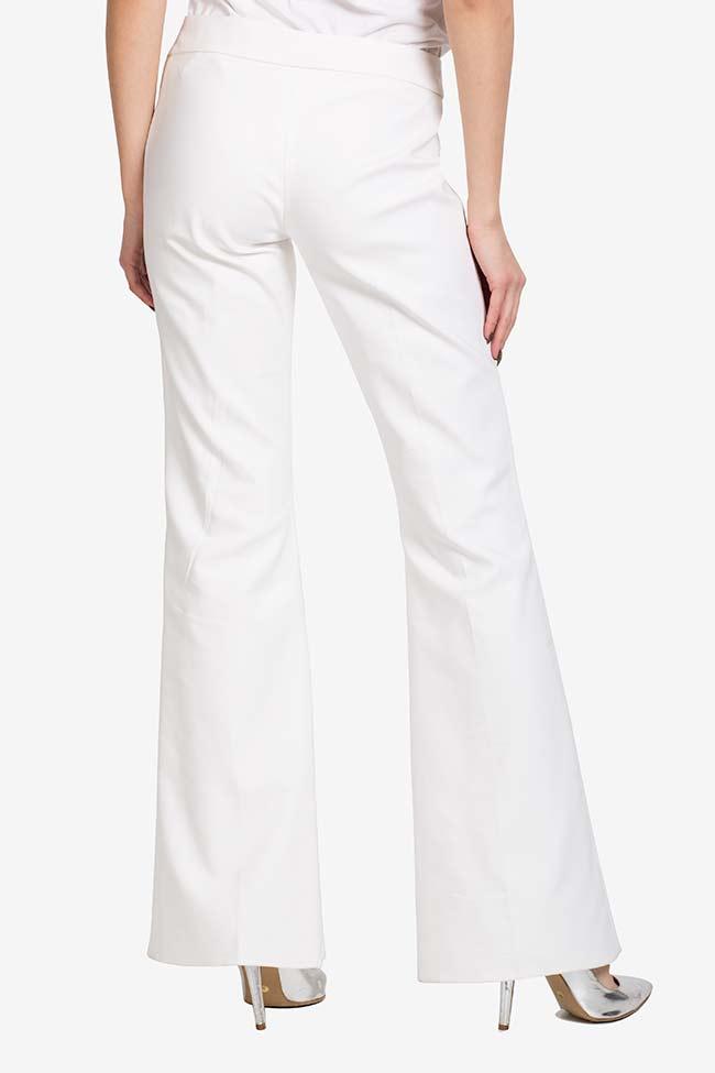 Pantalon évasé en crêpe VIGO image 2