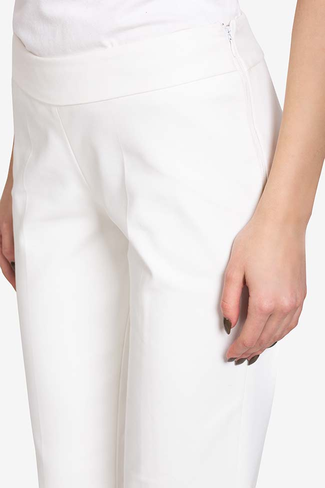 Pantalon évasé en crêpe VIGO image 3