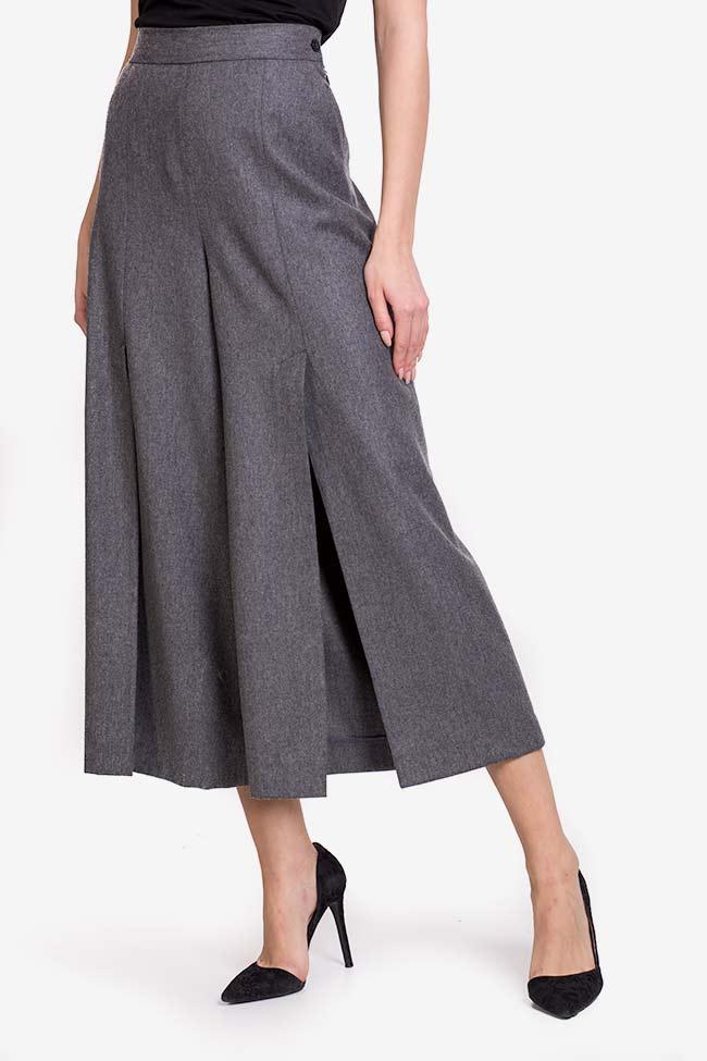 Wool-blend culottes Lena Criveanu image 0