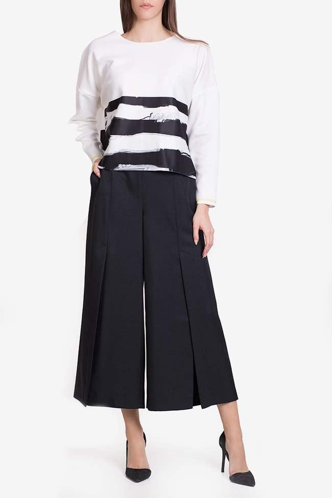 Wool-blend culottes Lena Criveanu image 1
