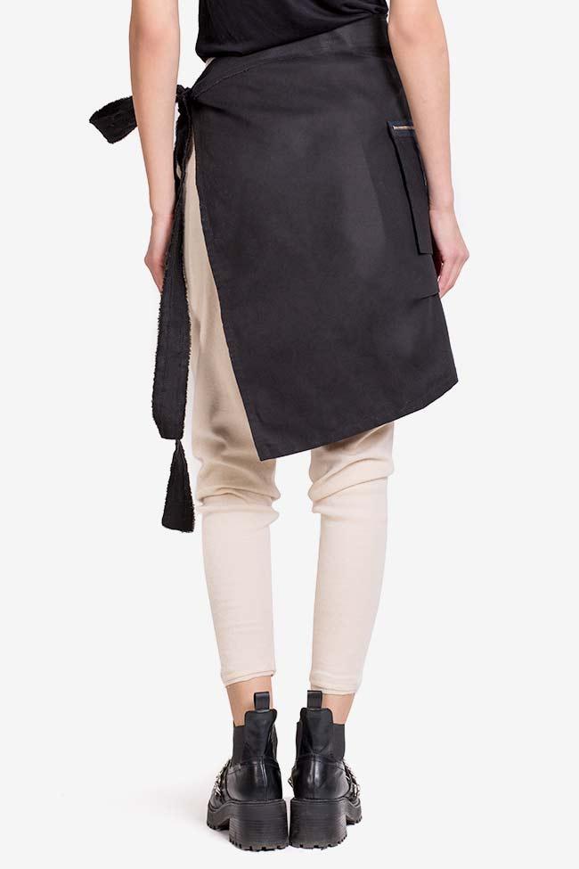 Asymmetric cotton apron  Lena Criveanu image 2