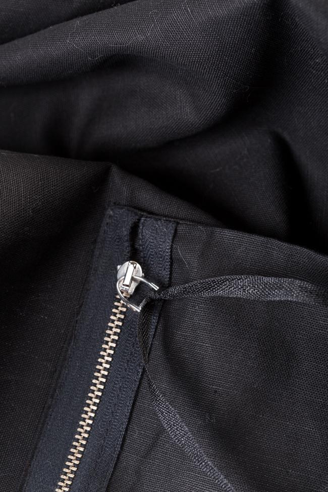 Asymmetric cotton apron  Lena Criveanu image 4