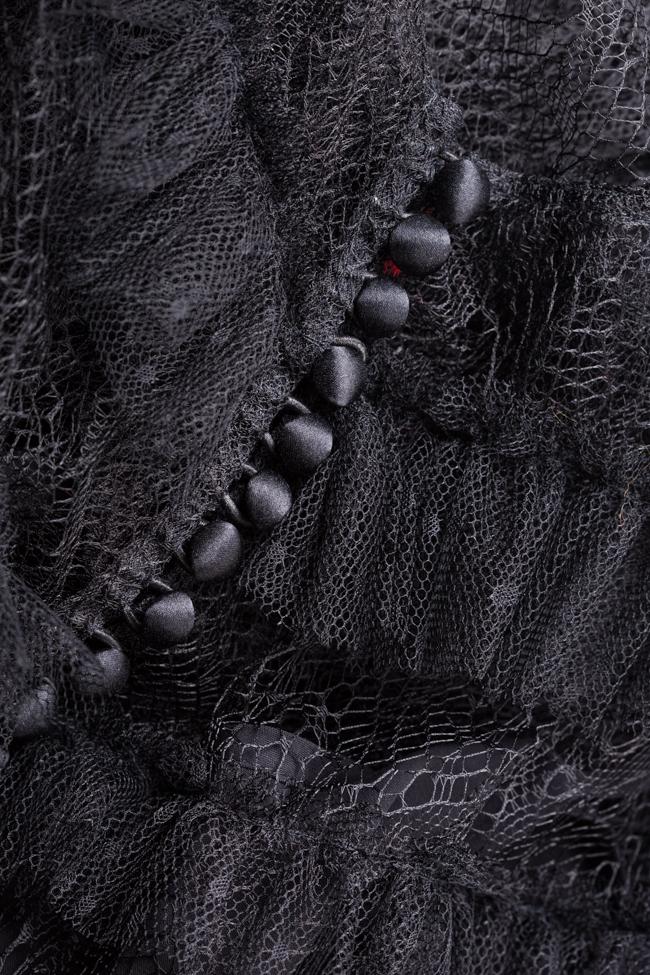 Robe en tulle et dentelle avec volants Agnès Ramona Belciu image 4