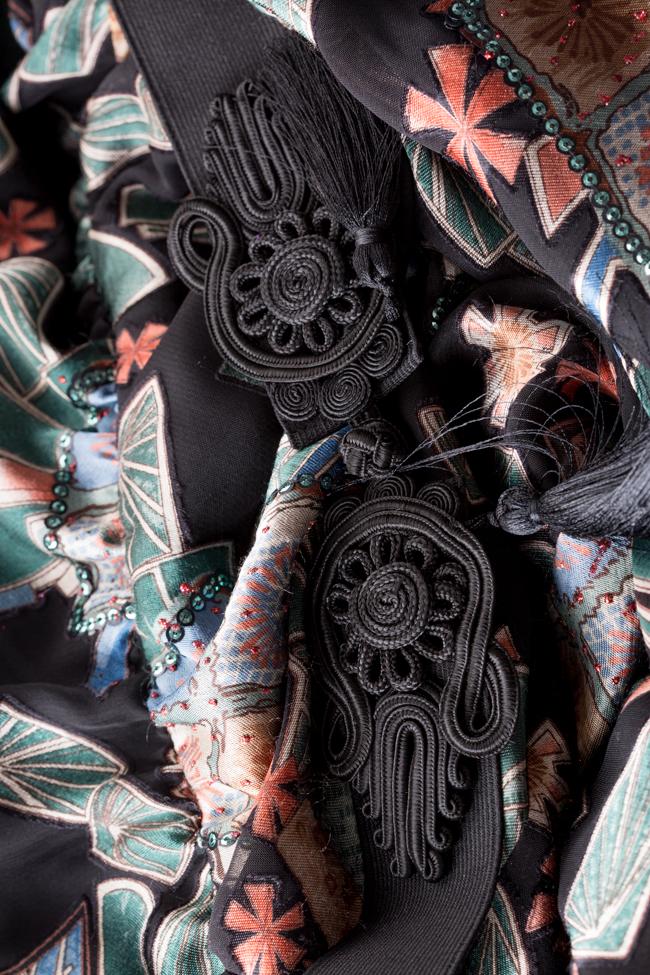 Robe en voile imprimé digital Calypso Ramona Belciu image 4