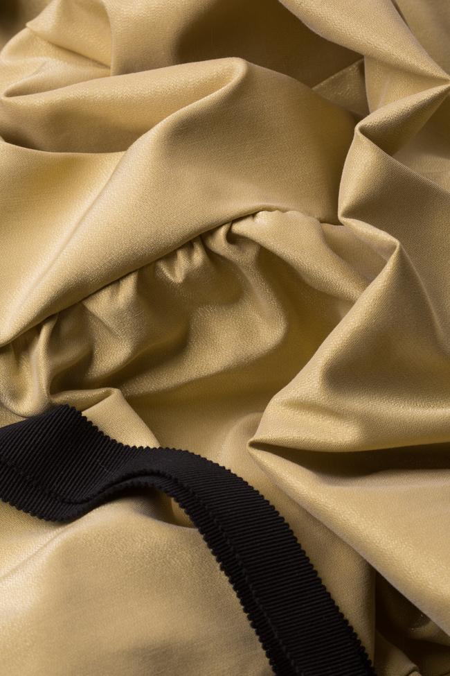 Golden Girl taffeta mini dress I Love Parlor image 5