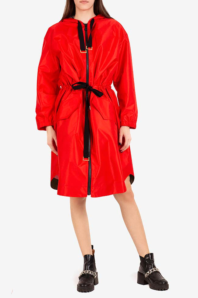 Bowie hooded shell parka I Love Parlor image 1