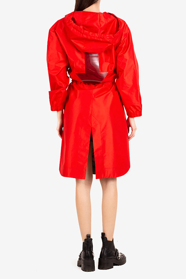 Bowie hooded shell parka I Love Parlor image 2