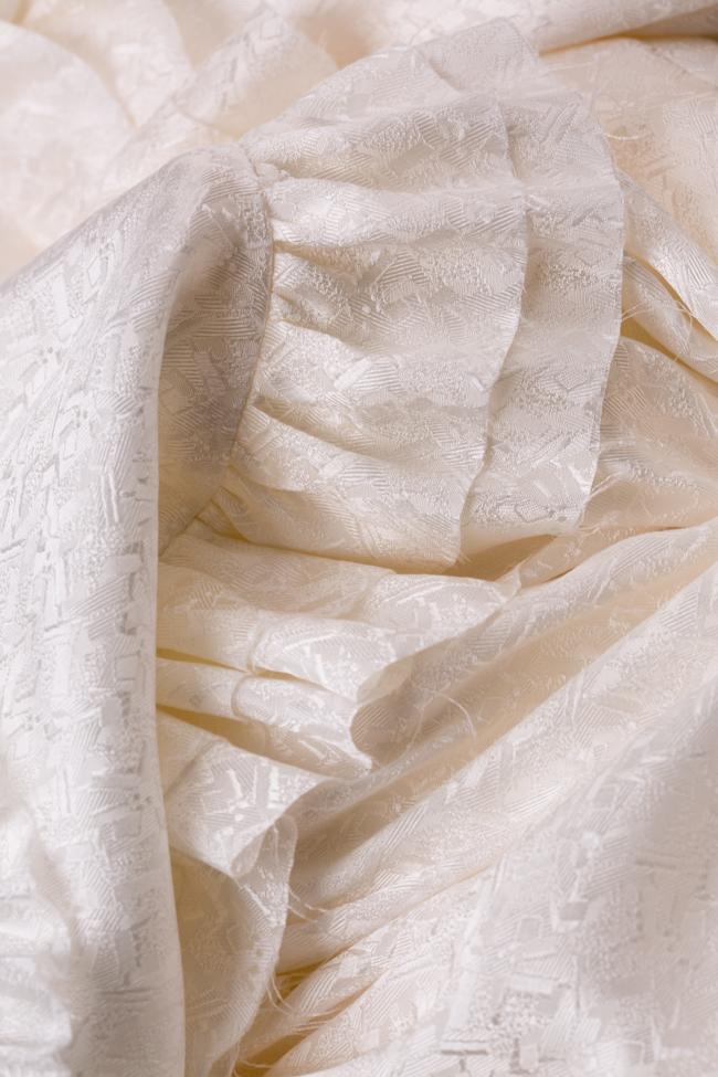 Robe mini en Jacquard de soie avec volants Sweetheart I Love Parlor image 5