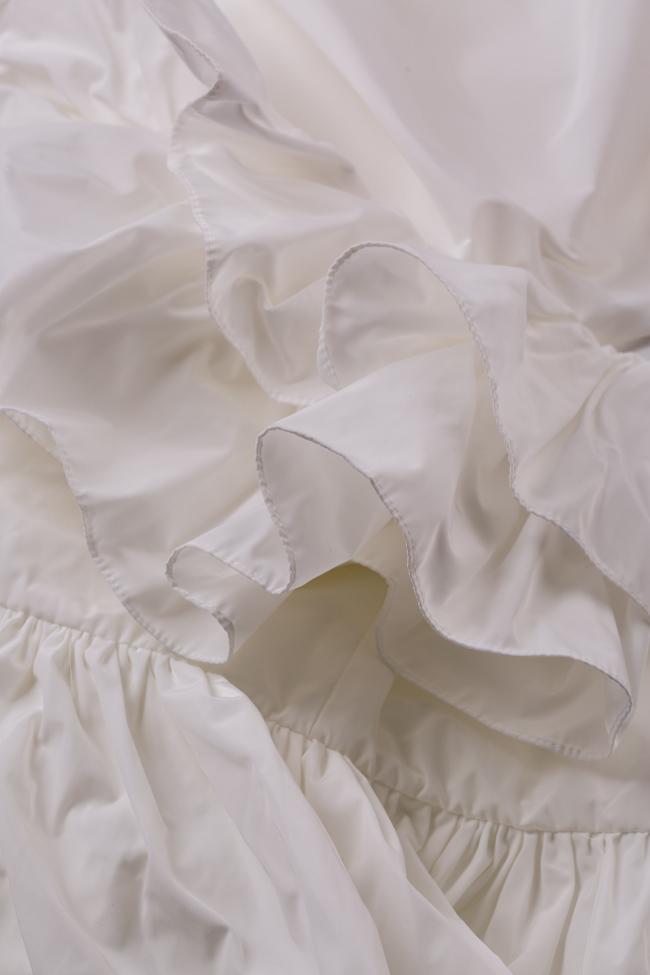 Ruffled mini taffeta wrap dress Marie I Love Parlor image 5