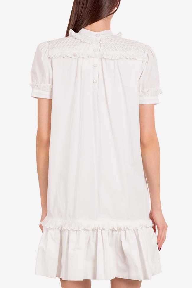 Cupcake cotton poplin ruffled mini dress I Love Parlor image 2