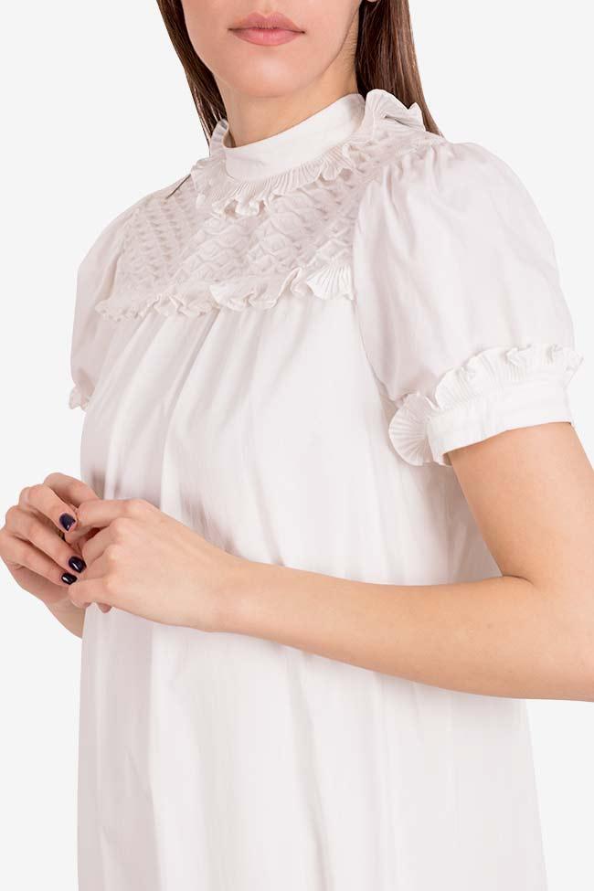 Cupcake cotton poplin ruffled mini dress I Love Parlor image 3