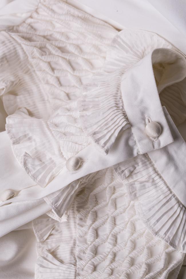 Cupcake cotton poplin ruffled mini dress I Love Parlor image 4