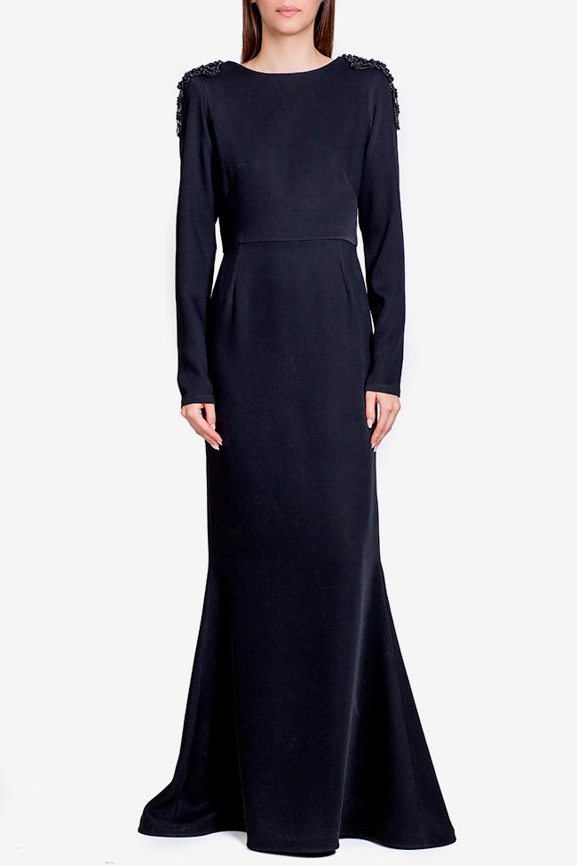 Taffeta black maxi dress Theresa Ramona Belciu image 0