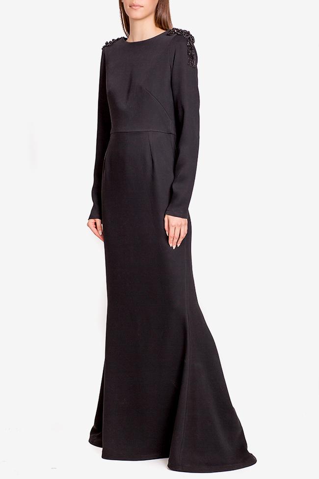 Taffeta black maxi dress Theresa Ramona Belciu image 1