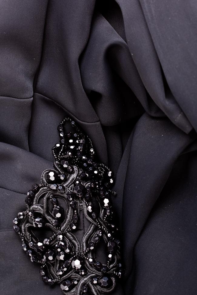 Taffeta black maxi dress Theresa Ramona Belciu image 4