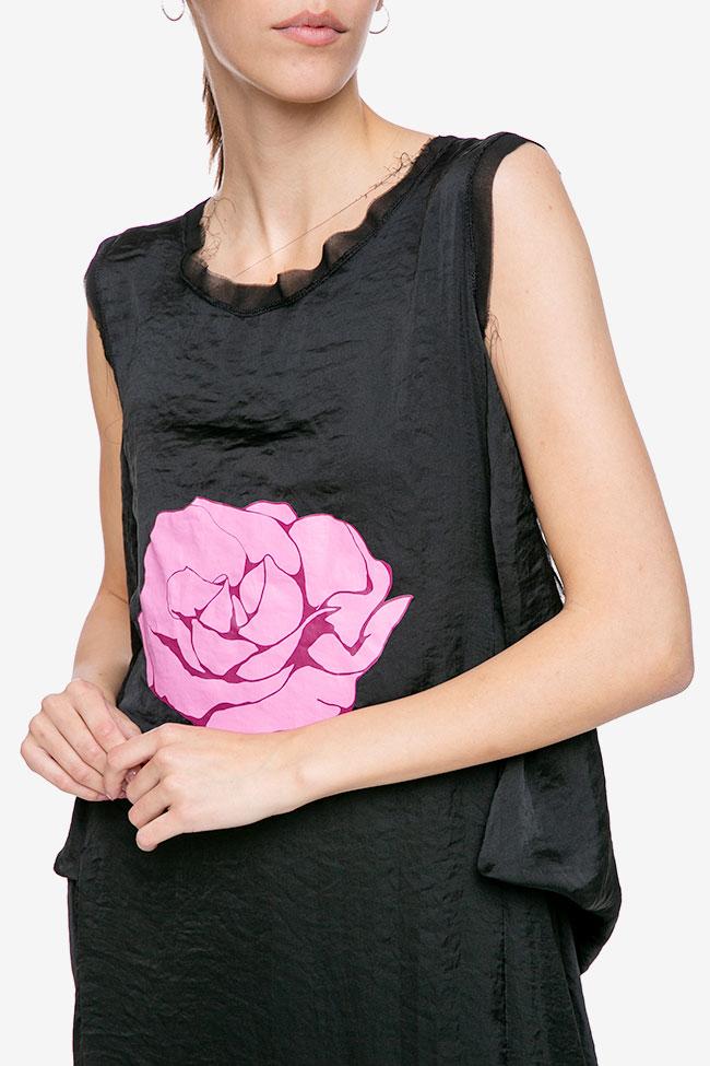 Rochie reglabila cu imprimeu floral Studio Cabal imagine 2
